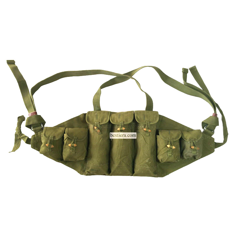Original Russia AK-47 or Chicom Type 56 Chest Rig PLA Ammo Pouch