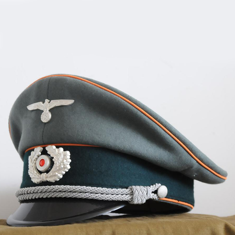WW2 German EM Officer Army Gendarmerie Hat Cap