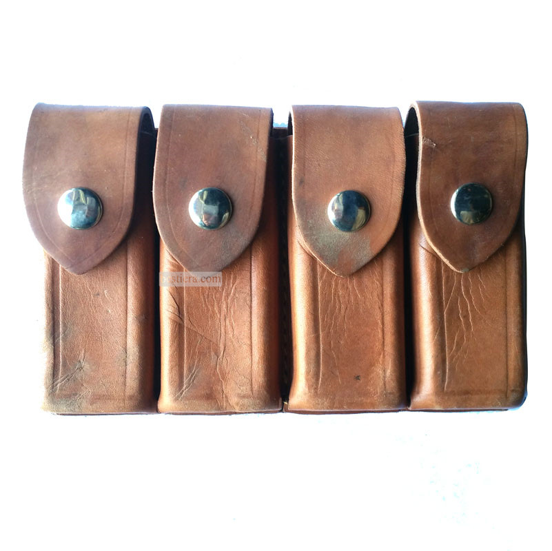 WW2 German Mauser 4 Cells Clip Ammo Pouch