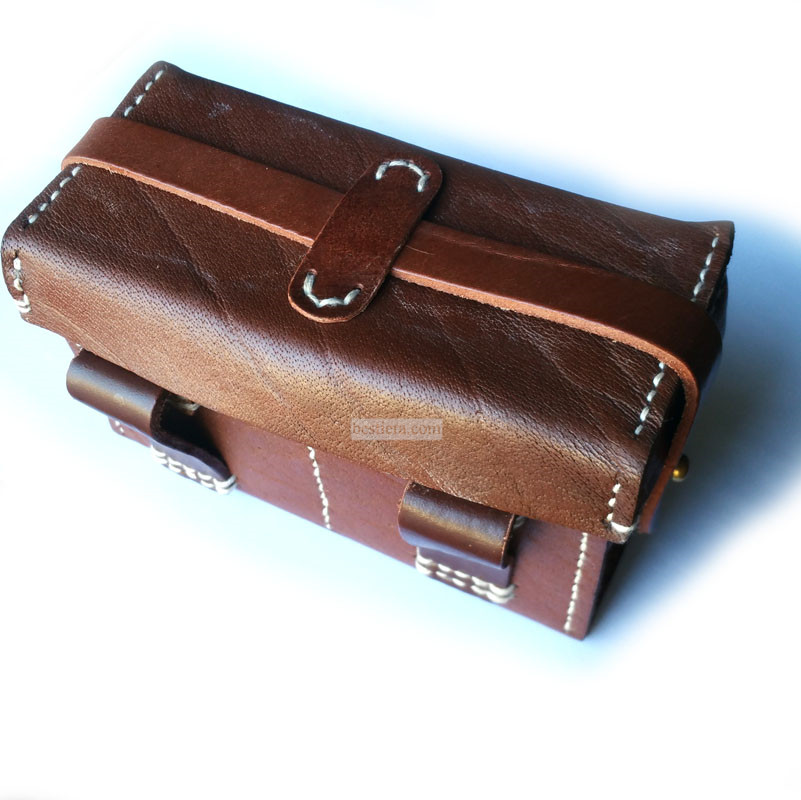 WW2 JAPANESE IJA SOLDIER AMMO POUCH BACK BOX