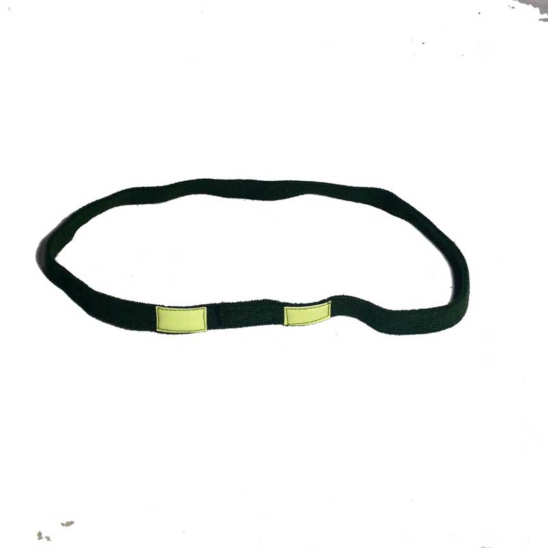 WW2 WWII LUMINOUS GREEN CAT EYES COTTON STRA BAND COTTON FOR M1 HELMET