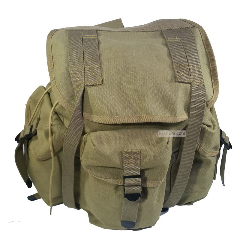 WW2 US Army Musette M14 Military Haversack Sailcloth Backpack