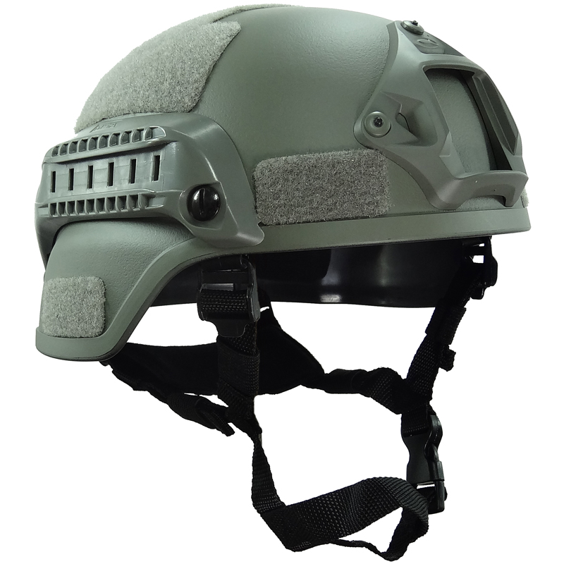 Grey Simple Style MICH2000 Helmet for Airsoft Paintball