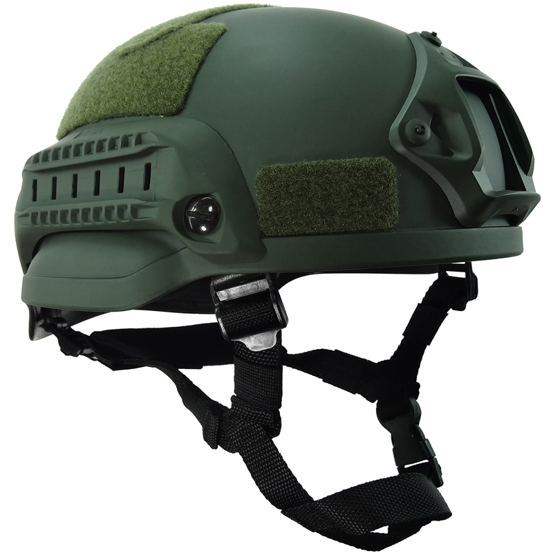 Green Sand Military Tactical Combat Hunting MICH2002 Helmet