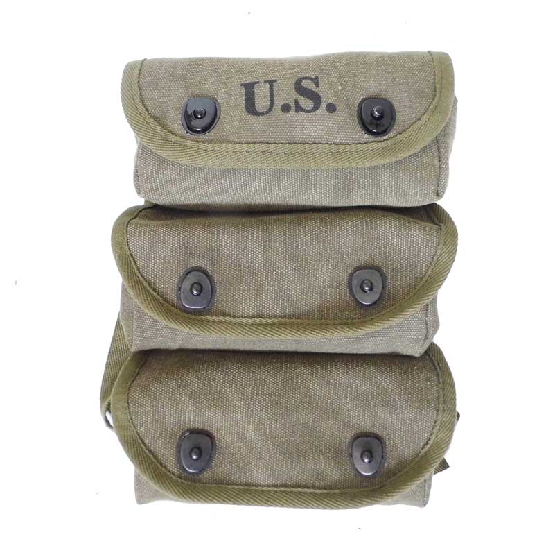WW2 3 Cells Accurrate Reproduction M44 Grenade Pouch Bag