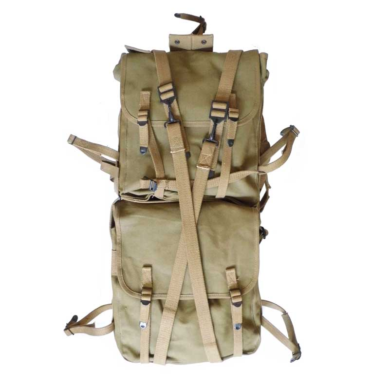 REPRODUCTION HEAVY DUTY WWII US SOLDIER WWII USMC M1941 HAVERSACK BACKPACK SET