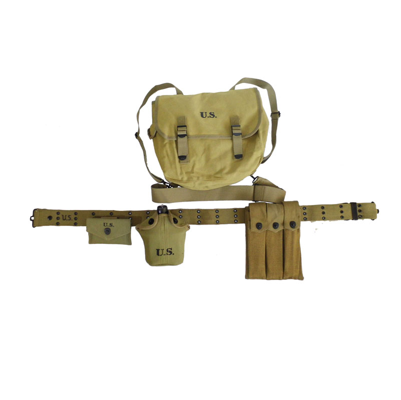 Reproduction WW2 US Airborne Thompson Machine Gun Webbing Canvas