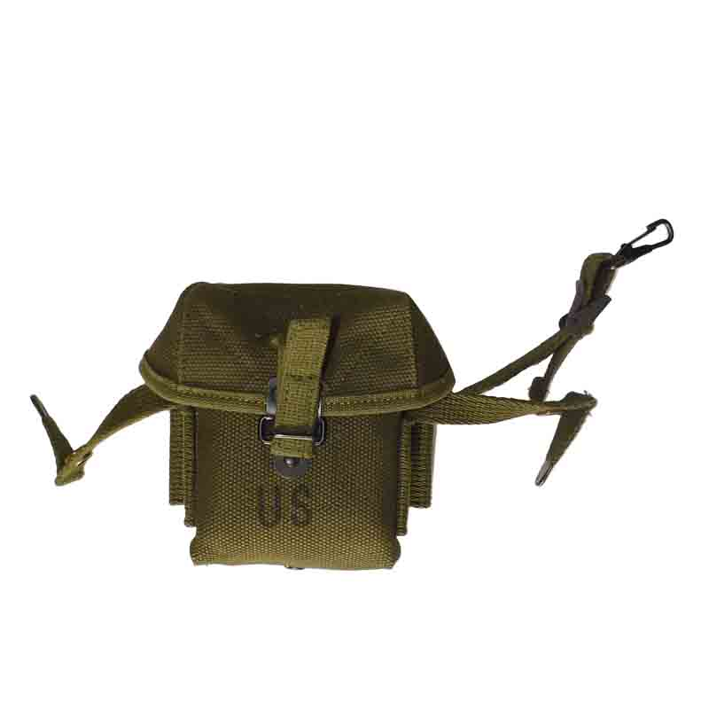 REPLICA Vietnam War Small Arms Cartridge Magazine Pouch CANVAS MATERIAL