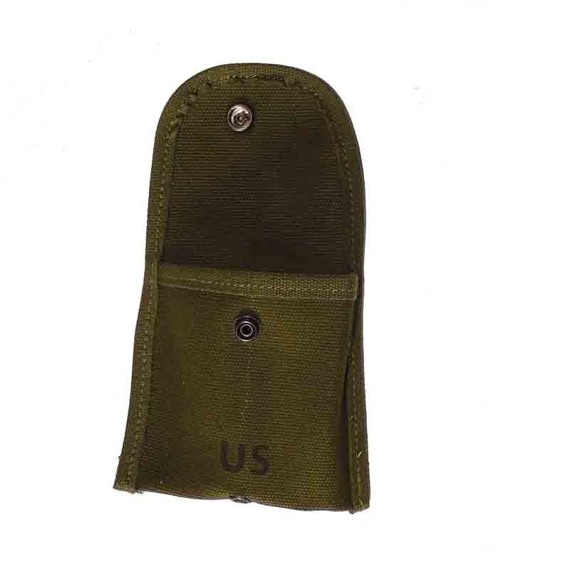 VIETNAM WAR US ARMY COMPASS BAG FIRST AID POUCH GREEN 1964 REPRO