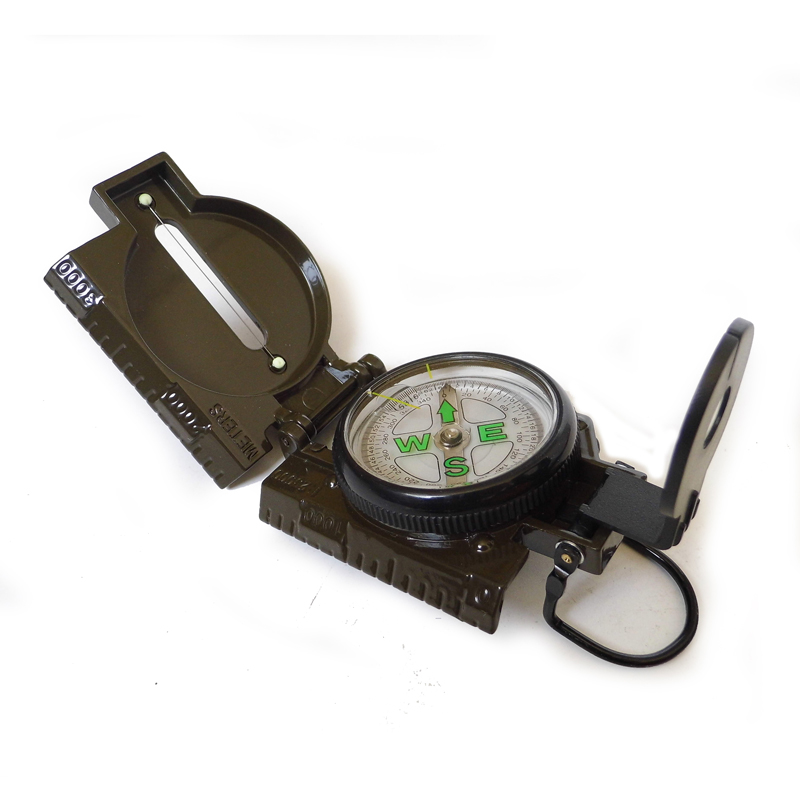 Military Style USMC Multifunction Lens Folding Compass