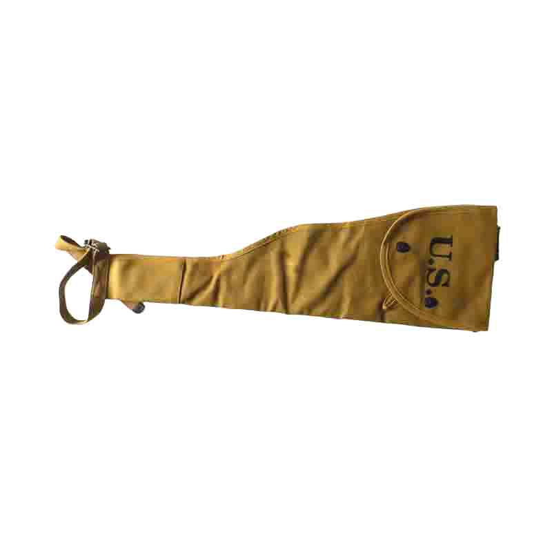 WW2 WWII HEAVY CANVAS PADED GARAND COVER CASE CANVAS HIGH GRADE MARK U.S.