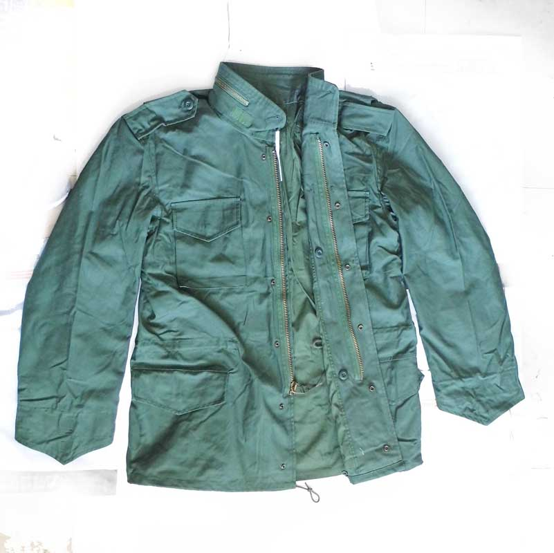 US Army Military Vietnam War M65 Jacket Coat Field Combat Shirt Uniform Men