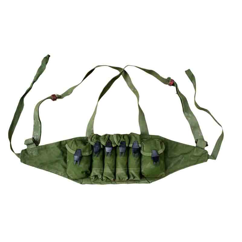 SURPLUS ORIGINAL CHINESE ARMY TYPE 79 CHEST RIG AMMO POUCH AMMO POUCH