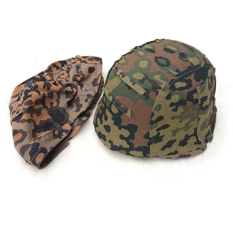 Oak leaf camouflage helmet cover (with hook)