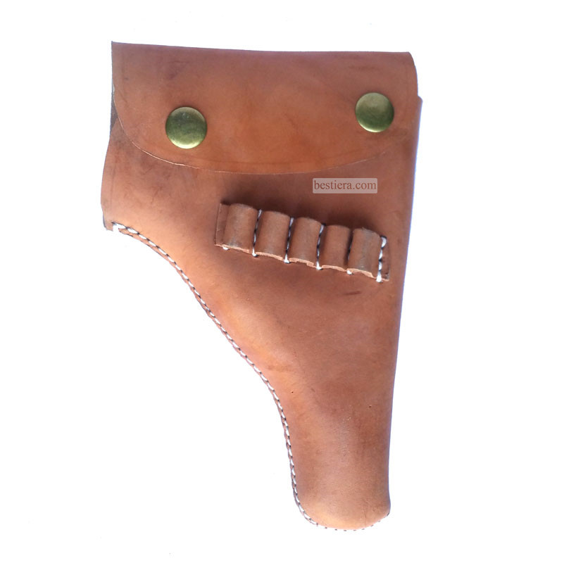 WW2 US Army Browning Holster LeatherMaterial 7.65 mm 9 mm