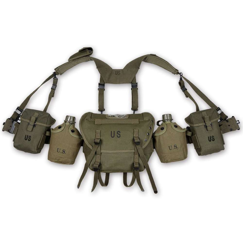 ACCURATE REPRODUCTION VIETNAM US ARMY SOLDIER EQUIPMENT GEAR AMMO POUCH BELT